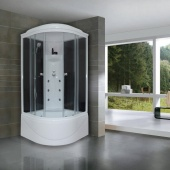 Royal Bath RB 100BK3-WT черный